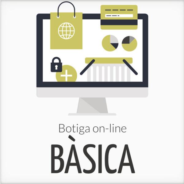 Botiga online bàsica personalitzada