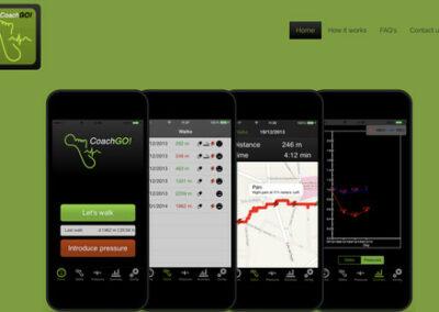 Disseny i programació aplicació mòbil i desenvolupament projecte web: CoachGo!