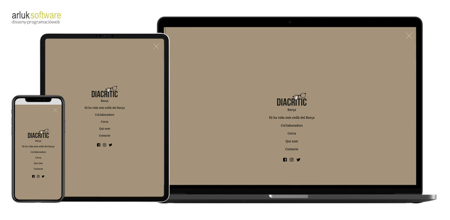 Diacrític programació web a mida responsive exemple 2