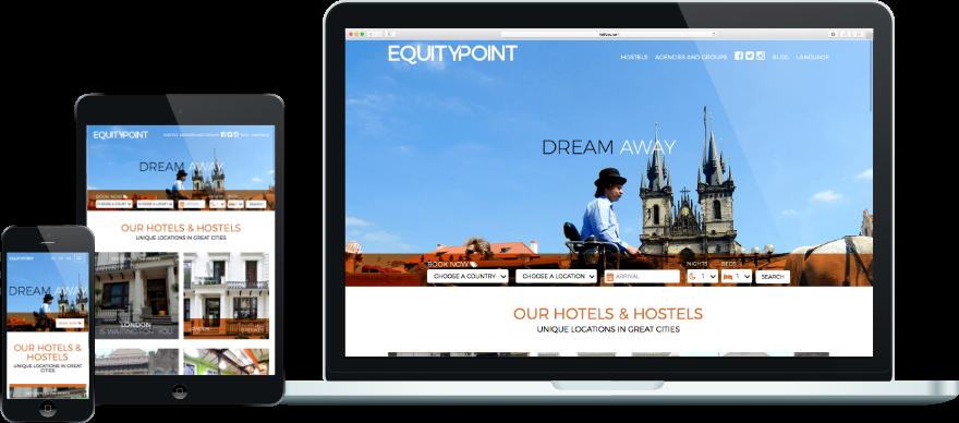 Equity-point programació plantilla web responsive a mida exemple 1