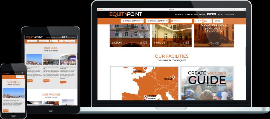 Equity-point programació plantilla web responsive a mida exemple 3