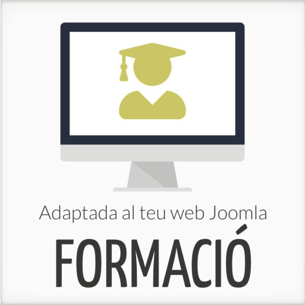 Formació Joomla adaptada al teu web