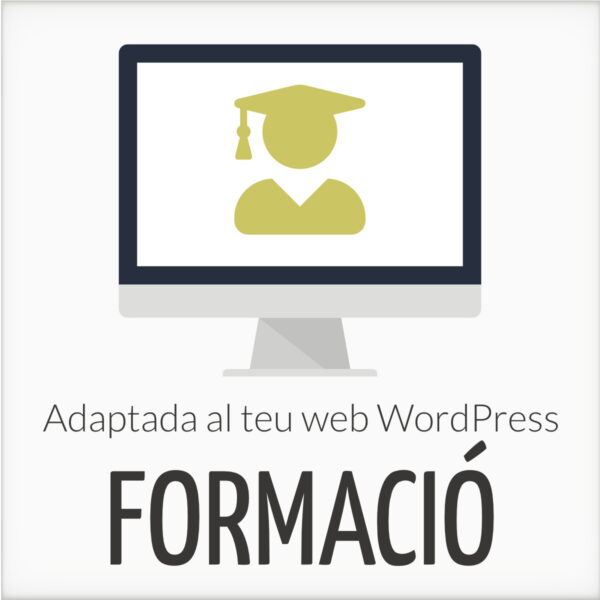 Formació WordPress adaptada al teu web