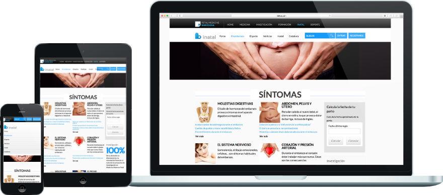 inatal programació web plantilla a mida i configuració portal exemple 2
