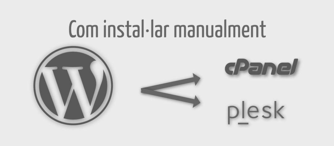 Instal·lar manualment WordPress