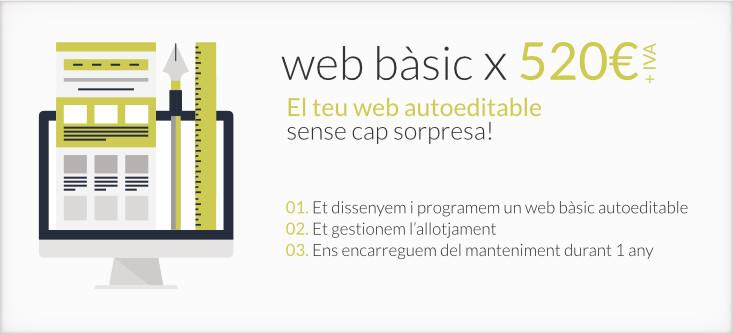 Web corporatiu bàsic en WordPress