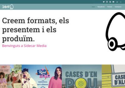 Programació web: Sidecar Media