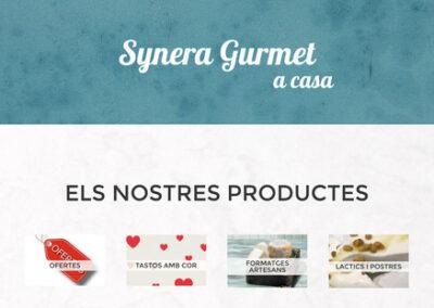Botiga online: syneragurmet.com