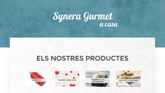 Synera gurmet disseny i programació botiga online