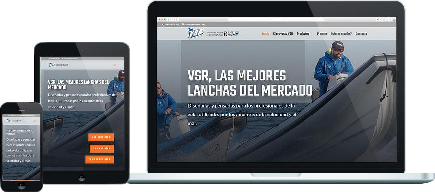 VSR Spain personalització plantilla i maquetacio web exemple 2