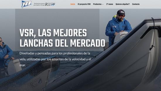 VSR Spain personalització plantilla i maquetacio web