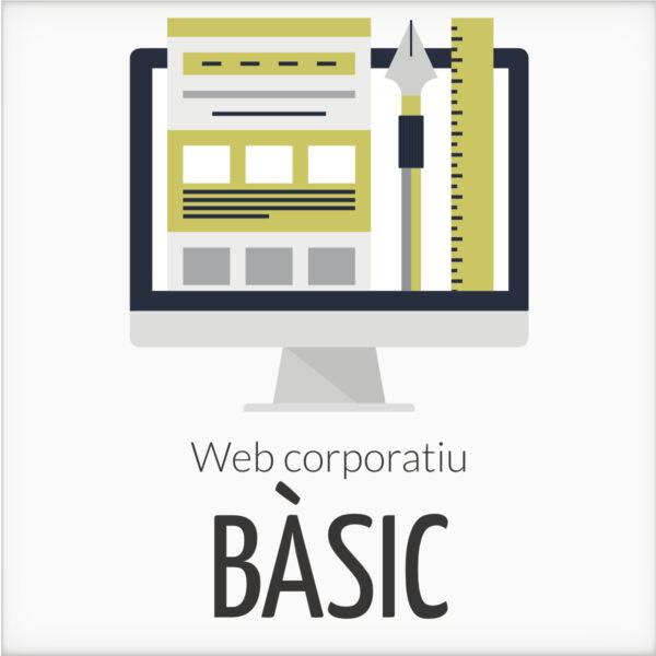 Web corportaiu bàsic en WordPress