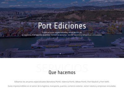 Desenvolupament web: Port Ediciones, S.L.