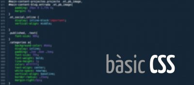 Conceptes bàsics del CSS que t'aniria bé conèixer si tens un web